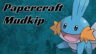 Papercraft - Mudkip