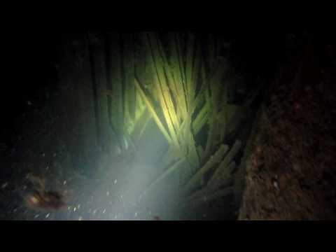 Diving a well preserved wreck in the Baltic