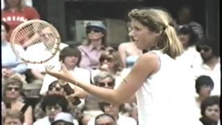 Martina Navratilova d Tracy Austin Wimbledon 1979 SF