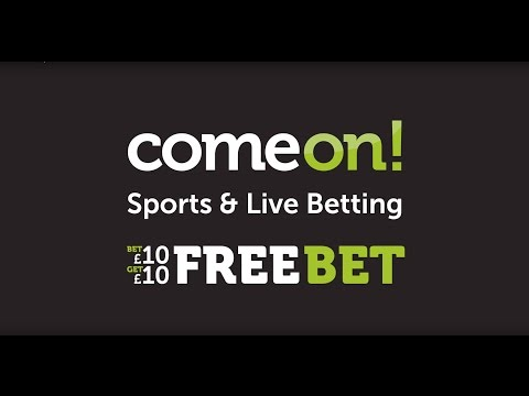 ComeOn! Bet £10, Get £10 Free Bet - New customer offer