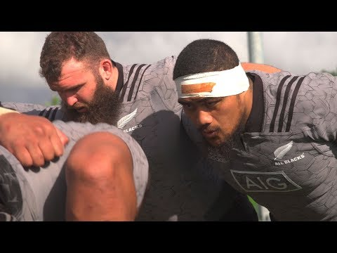 The All Blacks front row club