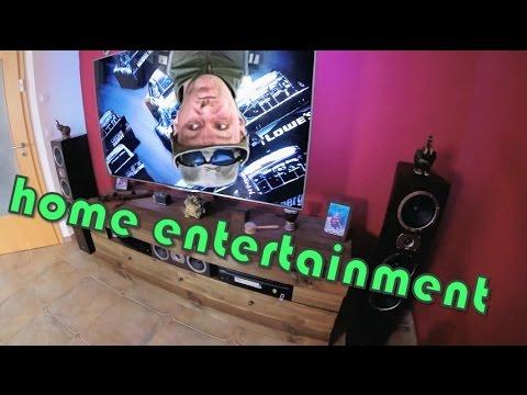 home entertainment - Wohnzimmer gestalten - HiFi Rack eigenbau
