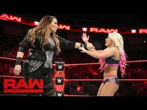 Nia Jax vs. Alexa Bliss: Raw, Sept. 18, 2017