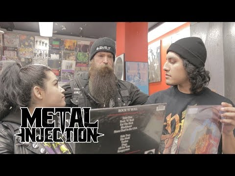 ZAKK WYLDE of BLS / OZZY OSBOURNE Works At GENERATION RECORDS For A Day | Metal Injection