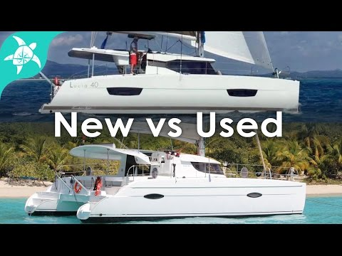 New Sailboat vs Used Sailboat Discussion with Mike from Sailing Unspoken