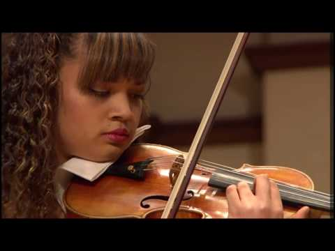 2016: J. Sibelius: Violin Concerto in D minor, mvt I - Annelle K. Gregory, violin