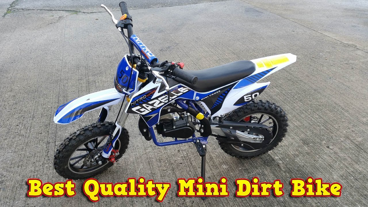 best quality mini dirt bike 50cc pocket bike youtube. Black Bedroom Furniture Sets. Home Design Ideas
