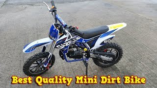 Best Quality Mini Dirt Bike 50cc Pocket Bike