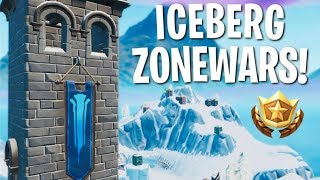 You *NEED* To Try This Zone Wars Map! (Geerzy's Iceberg Zone Wars)