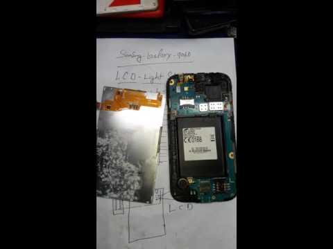 Samsung galaxy. 9060 display light solutions