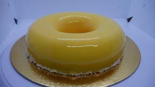 Mirror Mango Mousse Cake Recipe