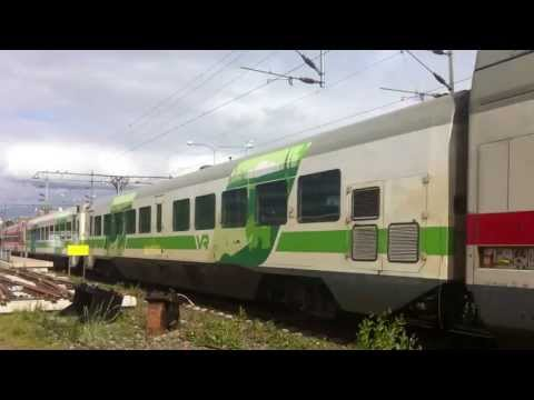 Finnish InterCity Train Oulu - Helsinki