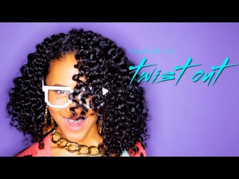 twist hairstyle curly girls