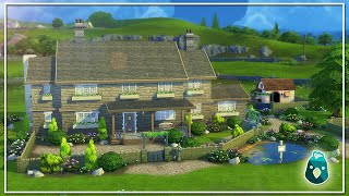 HOW I BUILT THE COUNTRY HOME IN THE SIMS 4 COTTAGE LIVING!