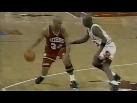 Michael Jordan Defense on Charles Barkley - 1991 NBA ECSF