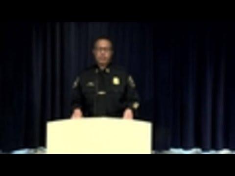 Detroit Police Chief James Craig discusses Officer Darren Weathers' fatal crash