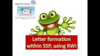 SSP Alphabet Letter Formation (RWI) With Phonics Song