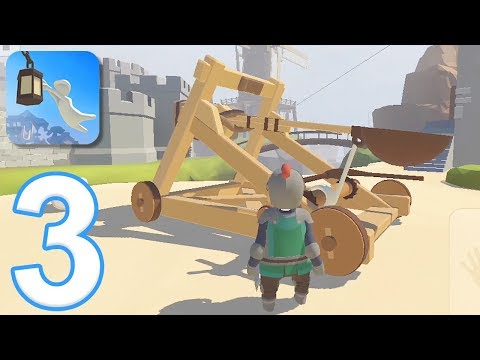Human Fall Flat Mobile - Gameplay Walkthrough Part 3 - Level 6: Castle (iOS, Android)