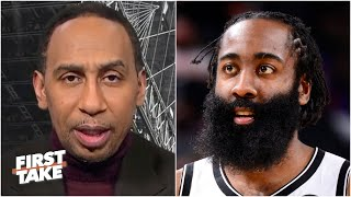 Stephen A. reacts to James Harden leading the Nets to a comeback win over the Suns | First Take