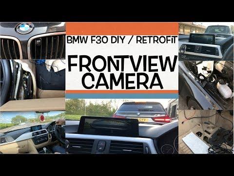BMW F30 Front view Camera DIY Retrofit Install