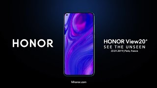 Honor V20 Official Trailer - Honor View 20 Official Video, Honor V20 Official Introduction