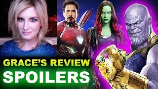 Avengers Infinity War SPOILER Review