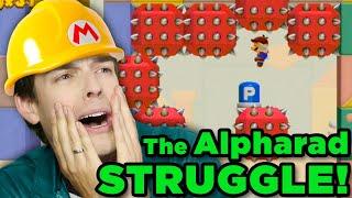 Alpharad Levels Gone CRAZY! | Super Mario Maker 2
