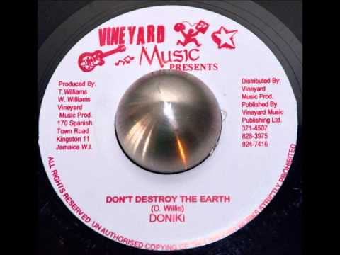 Doniki - Don't Destroy The Earth