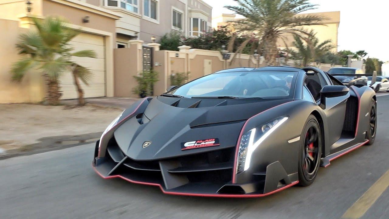 The Unicorn of Hypercars - Lamborghini Veneno!