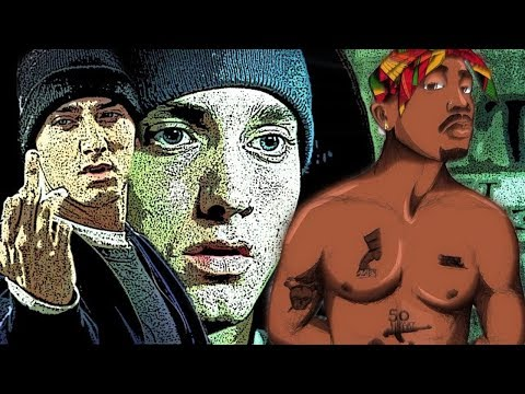 2Pac FT Eminem - When We Ride On Our Enemies  Tupac Thug Theory Remix