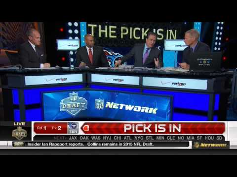 (HD) NFL 2015 Draft Selection - Tennessee Titans Pick Marcus Mariota #2