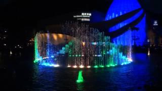 Ocean Park water fountain light show!!!