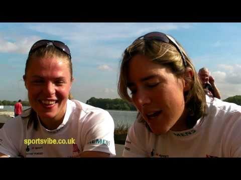 Anna Watkins and Katherine Grainger - Sportsvibe TV
