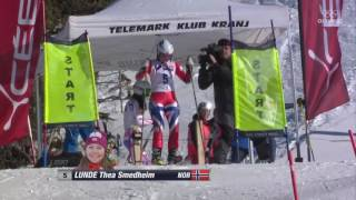 Sprint Finals – FIS Telemark World Cup Slovenia