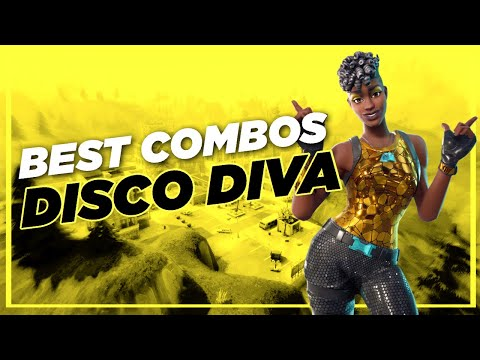 Best Chapter 2 Combos | Disco Diva | Fortnite Skin Review
