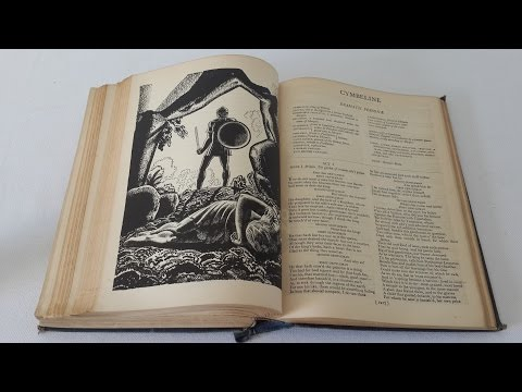 the complete works of william shakespeare illustrated by rockwell kent 1936 William Aldis Wright