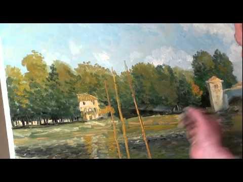 """FREE! Full video """"Monet"""" painter Igor Sakharov"""