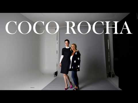 Coco Rocha : Behind the s with Rockland
