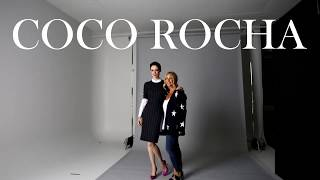 Coco Rocha : Behind the scenes with Rockland