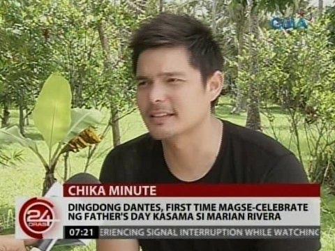 24 Oras: Dingdong Dantes, first time magdiriwang ng father ...