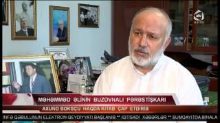 Haci Soltan Alizade ATV TV Buzovna məscidində dahi boksçu Məhəmməd Əli üçün ehsan verildi