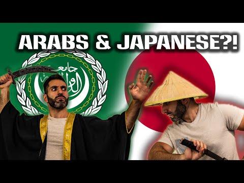Imagine Arabs & Japanese Met Centuries Ago