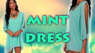 Sexy šifónové letní šaty za 200 Kč z aliexpress.com - YouTube 465d18ca451