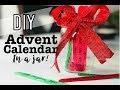 EASY DIY ADVENT CALENDAR IN A JAR!   CHRISTMAS ACTIVITY IDEAS  COUNTDOWN TO CHRISTMAS!