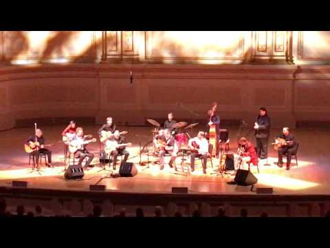 Final jam at Carnegie Hall - Django a Gogo