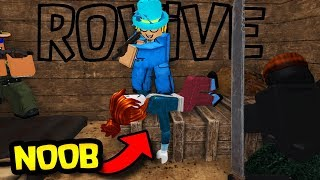 Roblox | Rovive Funny Moments! GET ON THE GROUND!!