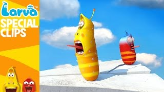 official flying larva - 1 min - fun clips from animation larva