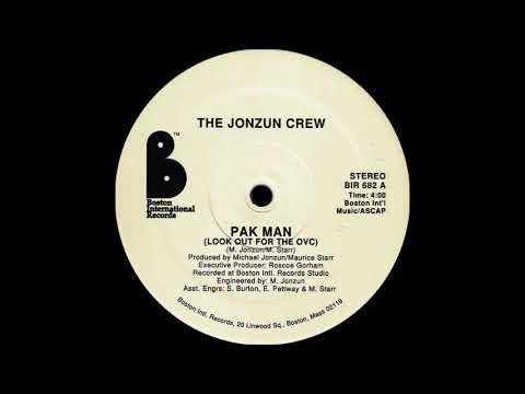 Jonzun Crew - Pak Man ( Look Out For The OVC ) ( Boston International Records 1982 )