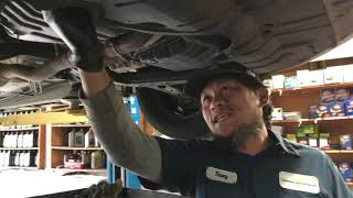 Toyota Camry, Engine Oil Change & Filter Replacement. Thay Nhớt Xe Toyota Camry.