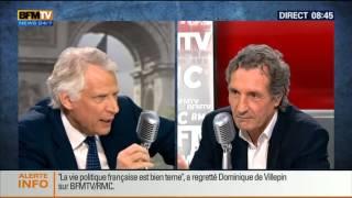 Bourdin Direct: Dominique de Villepin - 09/05